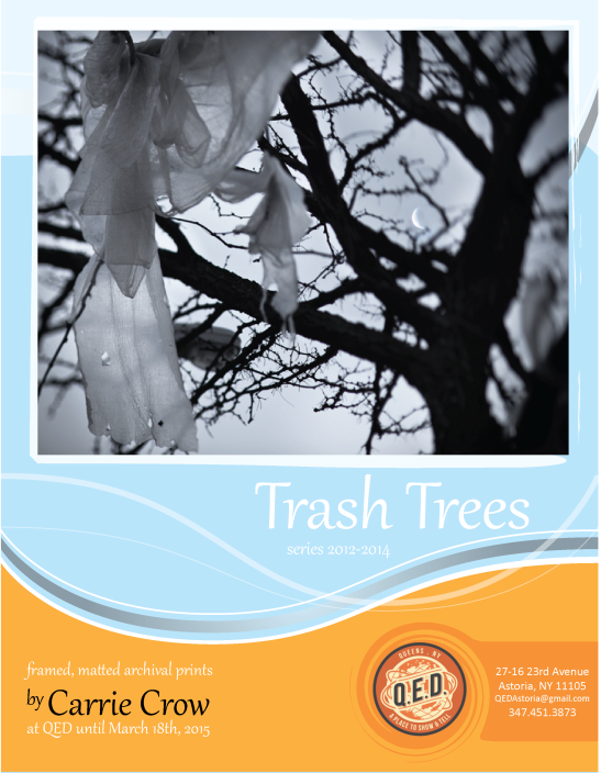 QED-TRASH TREES-Flyer